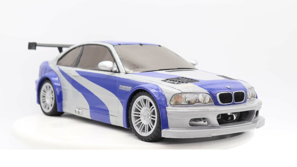 Building The Bmw E46 M3 Gtr From Nfs Mw Model Factory