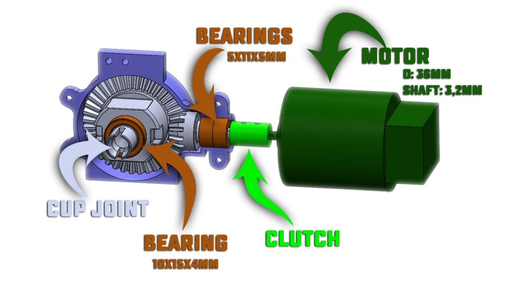 RC car gearbox