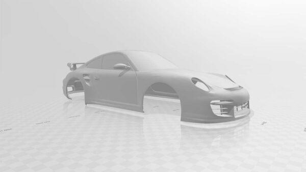 rc Porsche 911 GT2 body