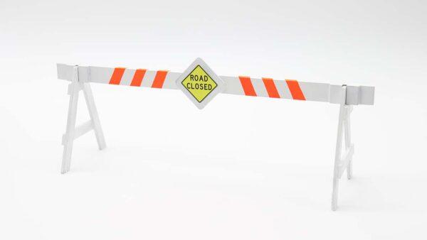 3D printable Road Block for cars