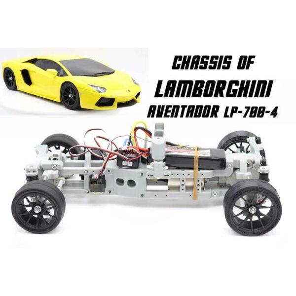 Chassis of Lamborghini Aventador LP-700